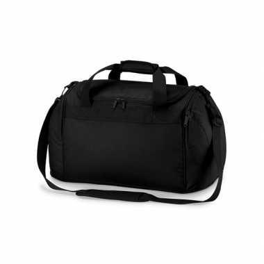 Compacte weekendtas zwart 26 liter