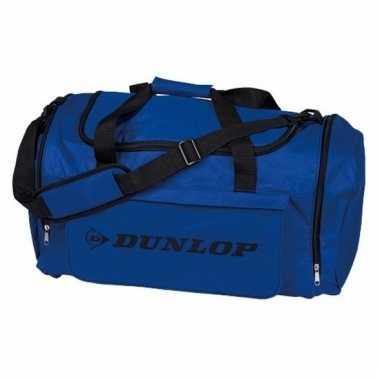 Dunlop weekendtassen donkerblauw/zwart