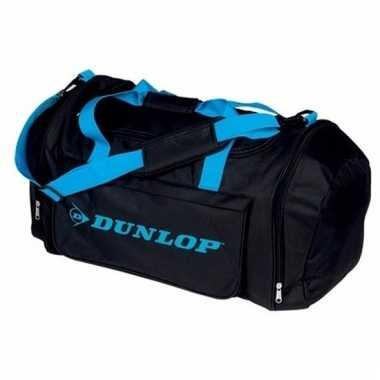 Dunlop weekendtassen zwart met blauw