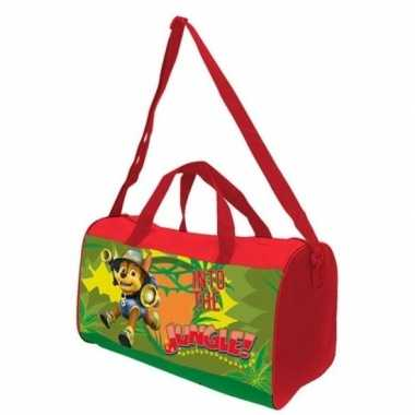 Paw patrol chase gymtasje voor kinderen