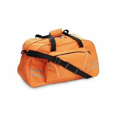 Weekendtas oranje 60 cm