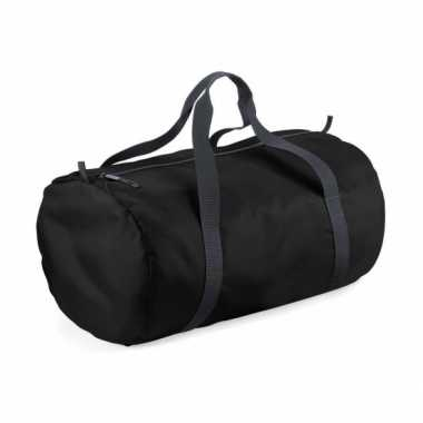 1f120d79f98 Weekendtassen zwart rond 32 liter | Weekendtas-kopen.nl