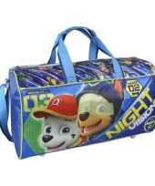 Blauwe paw patrol tas voor jongens 42 cm